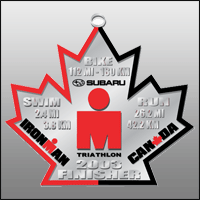 Ironman Canada Finisher Medal