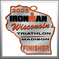 Ironman Wisconsin Finisher Medal