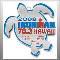 Ironman 70.3 Hawaii Finisher Medal