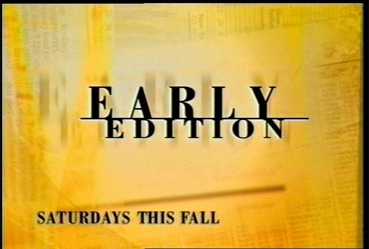 Early Edition :20 TV Spot